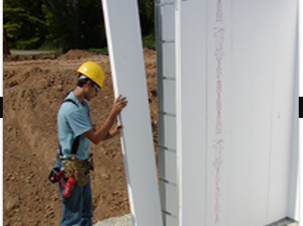 ICF construction and lower cooling biils
